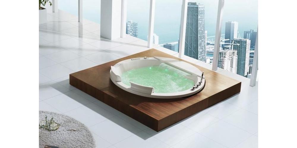 Vasche idromassaggio in salotto, una scelta di stile