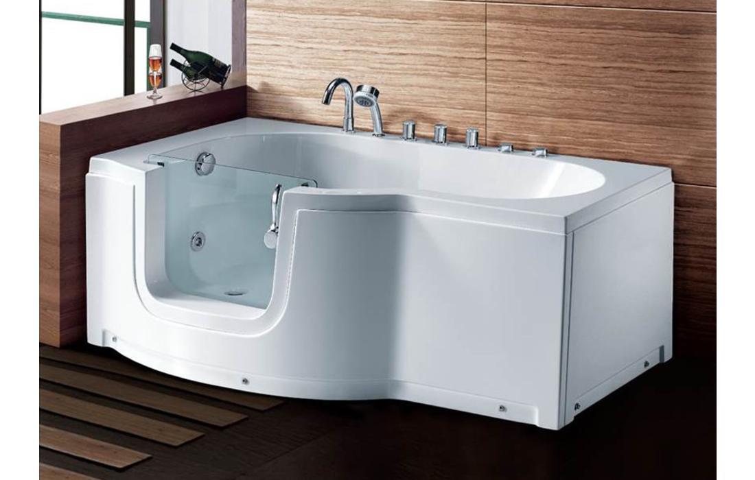 Vasche Da Bagno Hidrosan : Vasca da bagno angolare con sportello sportello vasca da bagno