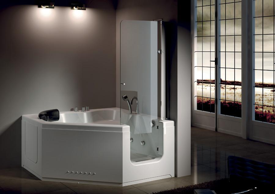 Vasche Da Bagno Con Sportello : Vasca con sportello: vasche per disabili e per anziani comode